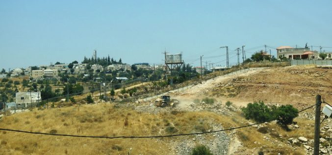 IOF Confiscate Irrigation Networks in A-Buqa'a/ East Hebron