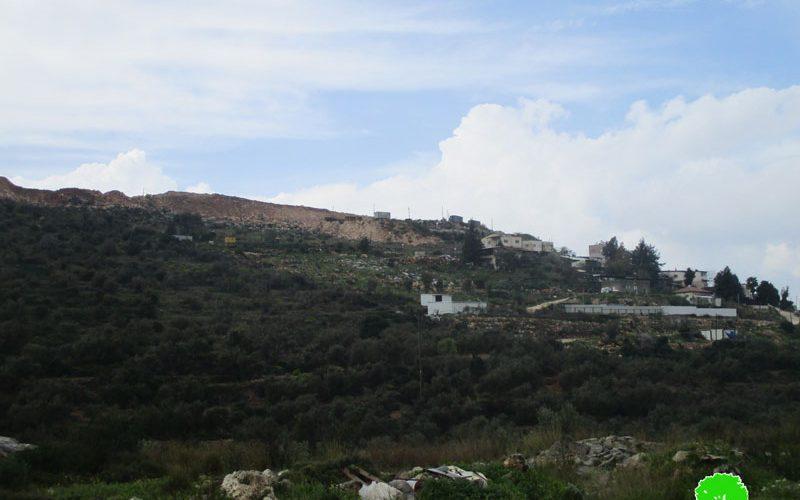 "Establishing a New Colonial Block in ""Ma'ale Israel"" on Salfit Lands"