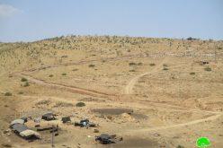 الشروع بإنشاء بؤرة استعمارية جديدة في منطقة الأغوار الشمالية / محافظة طوباس