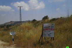 الاحتلال يقرر إنشاء خط مائي لصالح المستعمرات الإسرائيلية – بلدة سنجل / محافظة رام الله