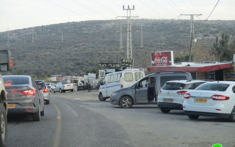 إخطار بإغلاق مداخل عدد من الورش الحرفية وإيقاف العمل بمنشأة سكنية في قرية حارس / محافظة سلفيت