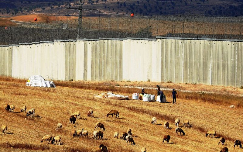 Israel Halts Work on Two Rooms and a Cistern in Al-Burj/ South Hebron