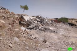 IOF demolish a house in Ad-Deirat – East Yatta / Hebron governorate