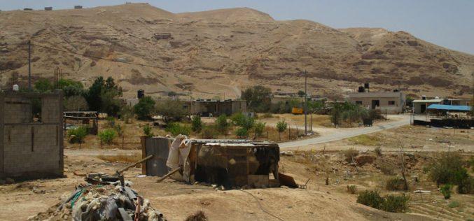 بذريعة الأمن… الاحتلال يمنع استغلال المراعي في قرية النويعمة / محافظة أريحا