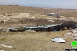 Demolition and confiscation of a barn in Khirbet Umm Al-Khair  – Yatta