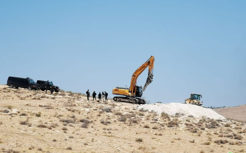 Four cisterns destroyed in Umm Al-Khair reserve – East Yatta