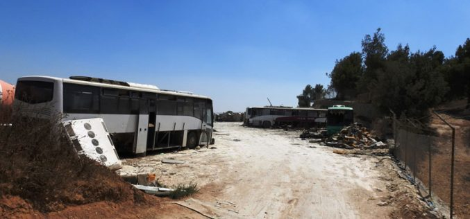 IOF Destroy a Facility in Deir Razeh / South Hebron