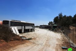 IOF Destroy a Facility in Deir Razeh / South Hebron