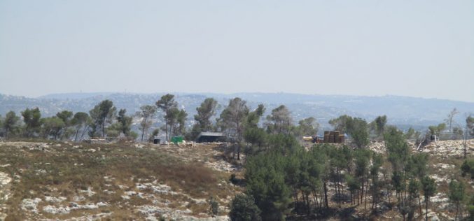 New outpost south west Jenin
