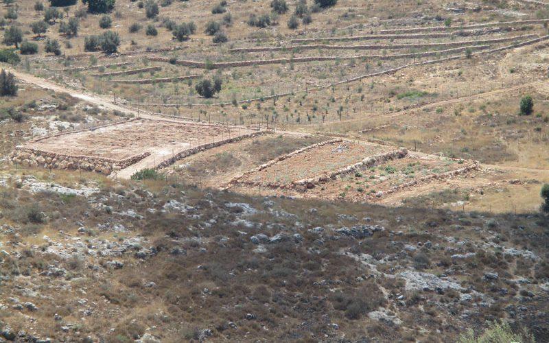 مصادرة غرفة زراعية معدنية في قرية جبارة / محافظة طولكرم
