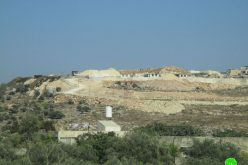 "New colonial block added to ""Burkan"" settlement on Sarta lands/Salfit"