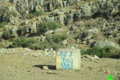 الاستيلاء على أراضي في منطقة وادي المالح وتحويلها لثكنة عسكرية / محافظة طوباس