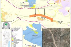 إخطارات بوقف البناء لغرفة زراعية في قرية النبي الياس / محافظة قلقيلية