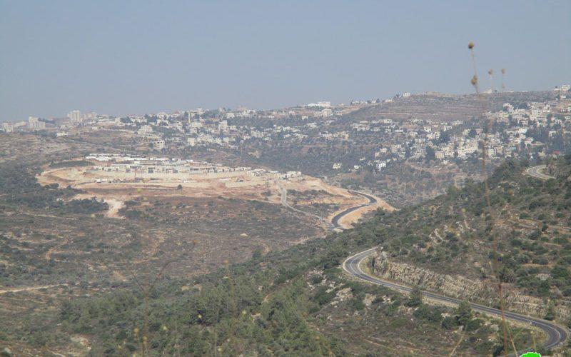 """""""Nahliel"""" settlement is expanding on Ramallah lands"""