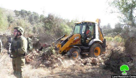 New segment of bypass 60 devours vast areas North Hebron