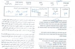 Halt of work order on residential and agricultural facilities in Barta'a town / Jenin governorate