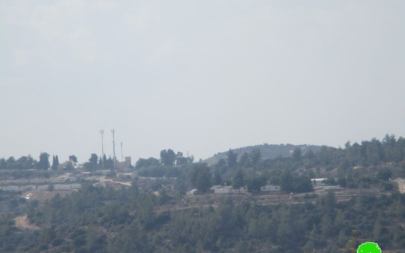 "New outpost south ""Halmish"" settlement/ Ramallah governorate"