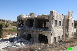 The Israeli occupation demolish a house Al-Hijra village / south Hebron