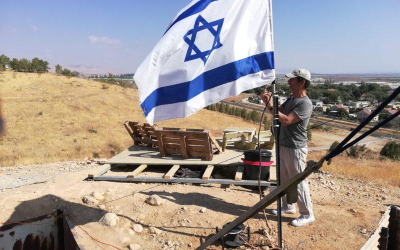 New outpost in Wad Al-Malih / East Tubas