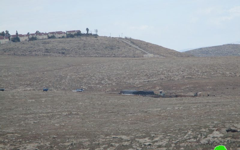 New outpost constructed on At-Taybeh lands north Ramallah