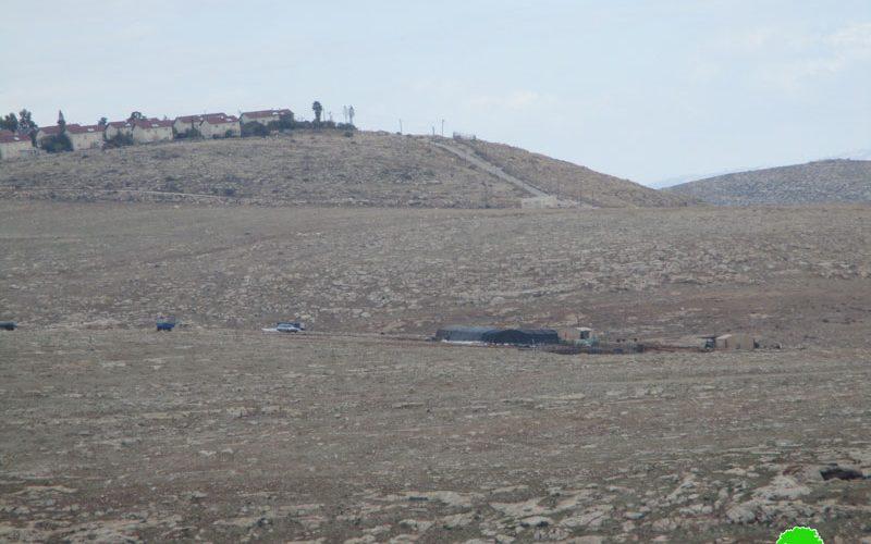 إنشاء بؤرة استعمارية جديدة على اراضي قرية الطيبة شمال رام الله