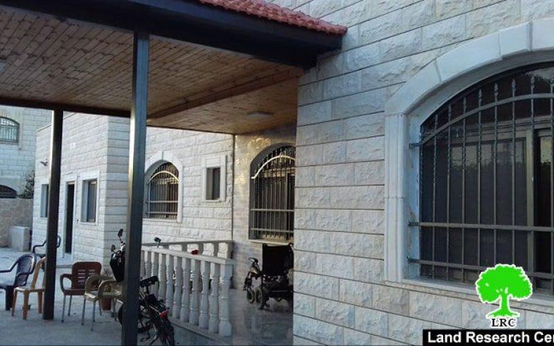 The Israeli Occupation threatens to demolish family home of prisoner Ahmad Qamba'a