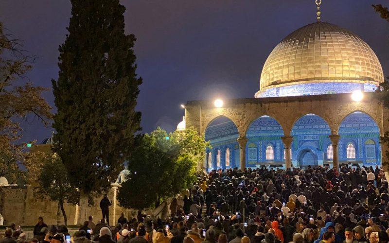 حملة الفجر العظيم..تثير غضب الاحتلال وتدفعه إلى قمع المقدسيين بأشكال مختلفة