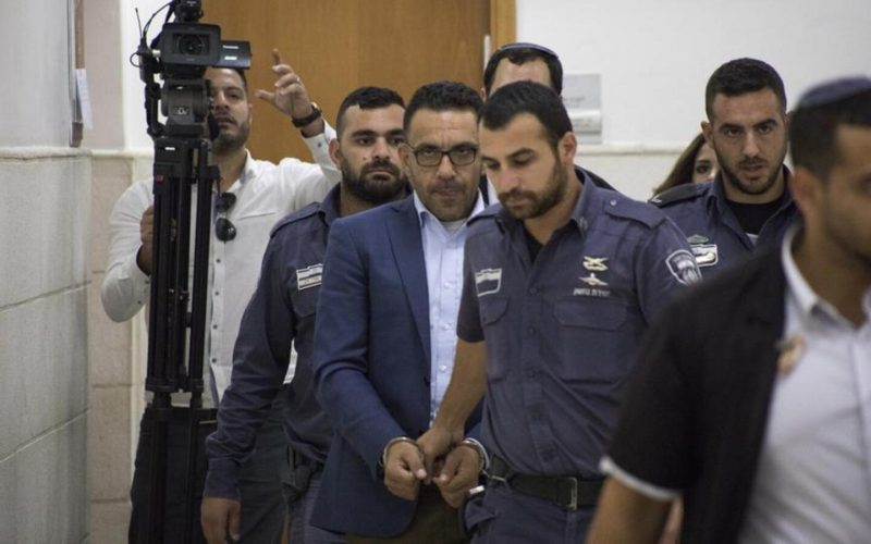 The Israeli Minister of Security hinders the work of Jerusalem governor 'Adnan Ghaith