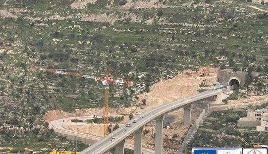 """إسرائيل تستغل """"الكورونا"""" وتشرع بأعمال بناء الانفاق على أراضي بيت جالا"""