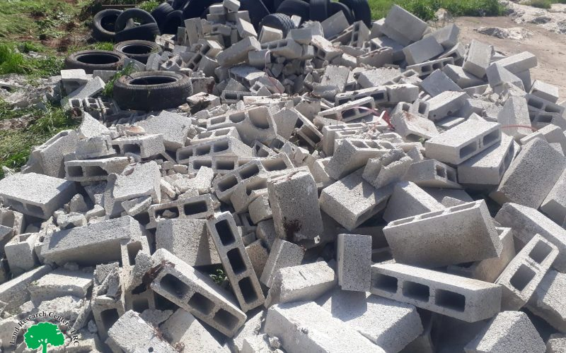 Demolition of tents in Khirbet Ibziq / Tubas governorate
