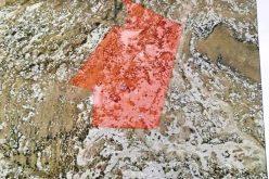 اخطار بإخلاء قطعة أرض في المفقرة شرق يطا بمحافظة الخليل