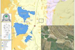 إخطار بوقف العمل في مسكن مواطن من عائلة جابر بمنطقة البقعة شرق الخليل