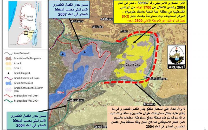 """ماذا تعني موافقة وزير الاحتلال """"بينيت"""" على حي إفرات الجديد في """"غوش عصيون"""""""