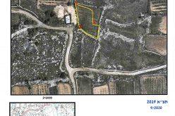 إخطار بوقف العمل وأوامر بإخلاء أراضي شرق بلدة بيت أمر / محافظة الخليل