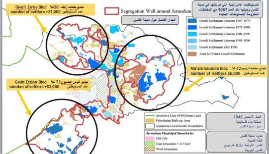 INFO-GRAPH: The Israeli Segregation Wall redrawing Jerusalem Boundary