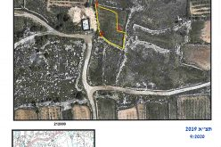 Military orders target agricultural lands in Beit Ummar / Hebron governorate
