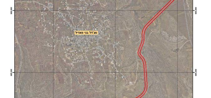 أوامر عسكرية اسرائيلية في خدمة المصالح الإسرائيلية