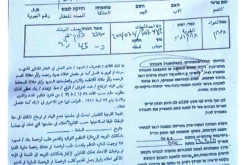 Halt of Work Notices target an agricultural room in At-Tayba – East Tarqumiya / Hebron Governorate
