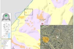 إخطار بوقف العمل في منشأة زراعية بقرية بيت مرسم جنوب غرب الخليل