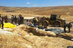The Israeli Occupation demolishes 11 houses and facilities in Masafer Yatta / Hebron governorate