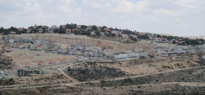 الاحتلال يعلن عن إيداع مخططات تنظيمية جديدة لتوسعة ثلاث مستعمرات إسرائيلية