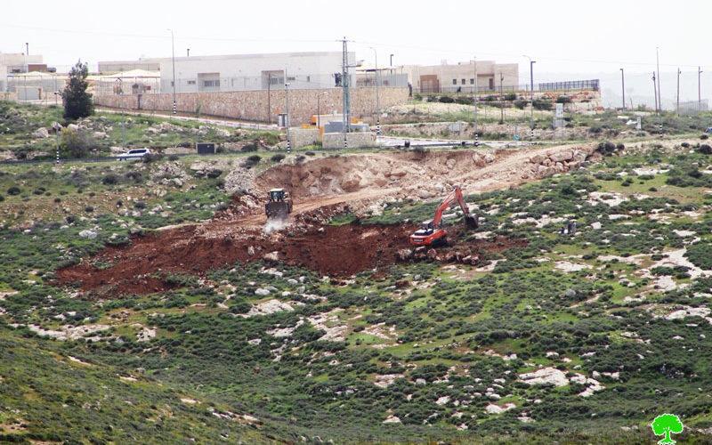 اعتداءات المستعمرين المتواصلة على ممتلكات المواطنين في محافظة الخليل