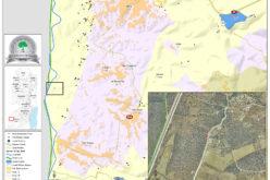 إخطار بهدم وإزالة منشآت زراعية ببلدة دير سامت / محافظة الخليل
