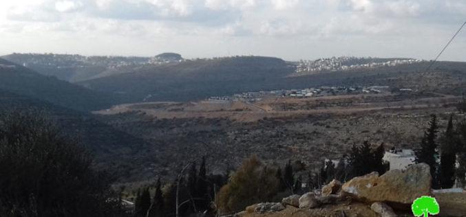 Expanding Kerem E'lam outpost in Al-Mazra'a Al-Qibliya / Ramallah governorate