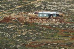 مستعمرون يجرفون أراضي ويقتلعون غراس زيتون في أراضي المغير/ محافظة رام الله
