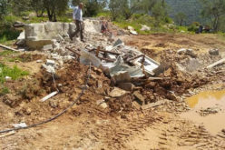 Demolishing agricultural facilities in Deir Ballut / Salfit governorate