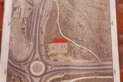 إخطار باستملاك قطعة ارض لصالح إقامة محطة ضخ مياه لصالح المستعمرين في قرية ياسوف شمال سلفيت