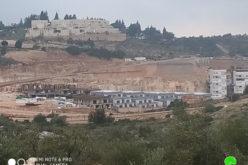 Elkana settlement expands more on Salfit lands