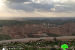 New plan to expand an illegal Quarry in Az-Zawiya / Salfit
