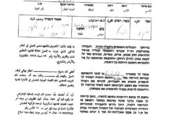 Halt of Work notices for Bedouin communities in Fasayel Al-Wousta village / Jericho governorate